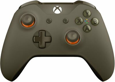 Microsoft Xbox One S Wireless Controller - Green / Orange