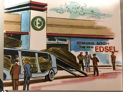 1958 Edsel National Annoucement Coming Soon Dealership Near You 8X10 Photo Wow!