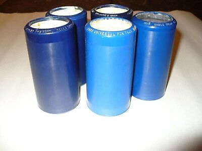 Lot of Edison Blue Amberol cylinder records with dance music
