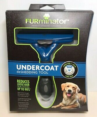 FURminator Long Hair deShedding Tool for Large Dogs 9268
