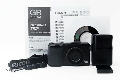 Ricoh GR Digital II 10.1MP Digital Camera w/ charger, battery [Excellen+++]