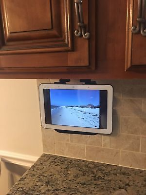Google Home Hub Under Cabinet Mount Black, White, Or Clear Ultra Low Profile