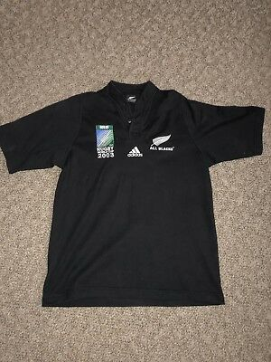 All Blacks 2003 World Cup Jersey