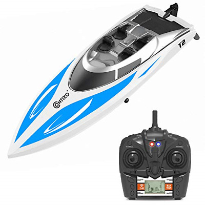 Contixo T2 RC Remote Control Racing Sport Boat Speedboat | Swimming Pool Toy -