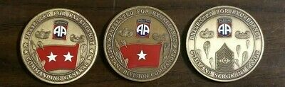 82ND AIRBORNE DIVISION Regimental Challange Coin - $15 00