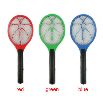 Battery-operated Electric Mosquito Fly Swatter Killer Bug Zapper Insect Racket