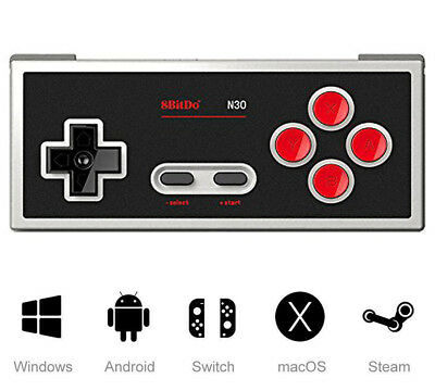 8Bitdo N30 Wireless Bluetooth Controller Gamepad for Android/ PC/Mac OS/Switch/