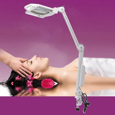 5 X Beauty Magnifier With Cover Adjustable Arm Magnifying Glass Beauty Salon B3