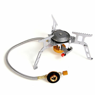 Outdoor Gas Jet Portable Stove Burning Cooking Camping Gear Cooker Picnic Burner