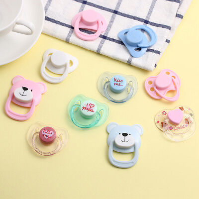 Kids Toy Handmade DIY Simulation New Baby Dummy Nipples Doll Magnet Pacifier