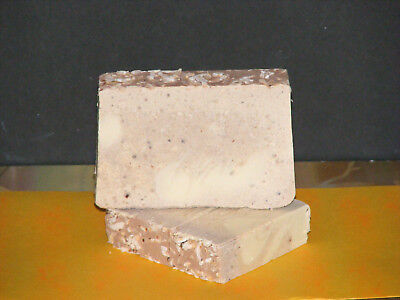 "MAGICAL MYST SOAP ""Got Itch?"" NEEM MANGO Tonka Coconut Body Booty Buffer Bar"
