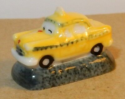 RARE TAXI NEW YORK CHECKER YELLOW CAB in TAXI DRIVER 1976 CHARM PORCELAIN 3D