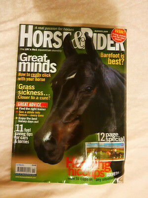 Horse and Rider, Great minds, How to click with your horse, Summer 2008