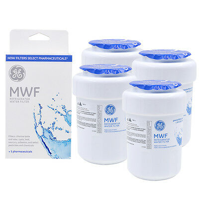 1/2/3/4 pack OEM GE MWF MWFP GWF 46-9991 Refrigerator Water Filter New Brand