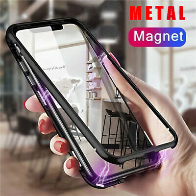 Shockproof Magnetic Absorption Phone Case Cover For iPhone XS Max XR 8 7 Plus 6s