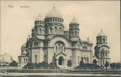 Riga Rīga Ри́га Russisch Orthodoxe Kathedrale 1913
