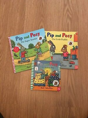 Selection Of Pip And Posy Books