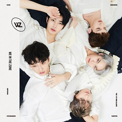WE IN THE ZONE [WE IN THE ZONE] 1st Mini Album CD+POSTER+Book+Photo+2Card SEALED