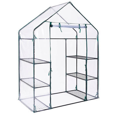 Garden Outdoor Large/Small Plastic Wall In Greenhouse Plant Seeds Grow House New