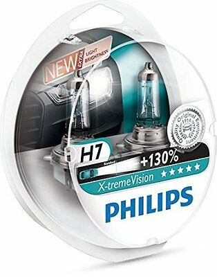 Philips Extreme Vision H7 +130% (Pair) -