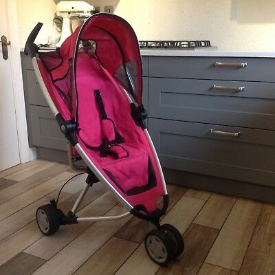 Quinny Zapp folding stroller with extras