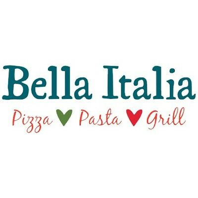 £20.00 Bella Italia voucher coupon code
