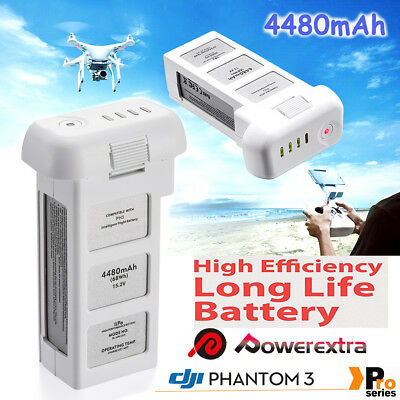 For DJI Phantom 3 Pro Advanced Standard Intelligent Flight LiPo Battery 4480mAh