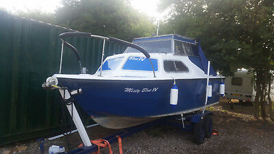 norman 18ft cruiser with 25hp outboard
