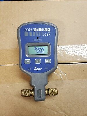 SUPCO VG64 Digital Vacuum Gauge Micrometer Pre-Owned