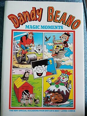 Dandy and Beano magic moments annual