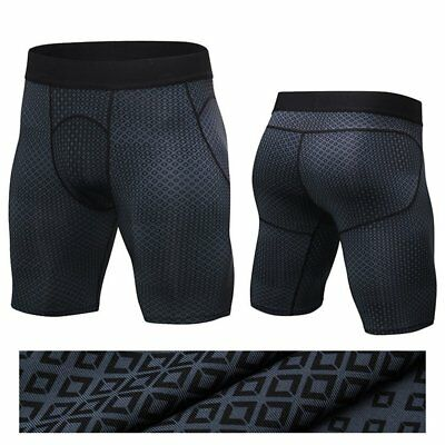 Men Weight Loss Sauna Sweat Thermo Shorts Body Shaper Athletic Yoga Gym Pants Z1