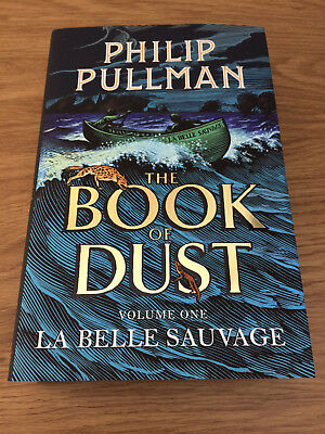 LA BELLE SAUVAGE THE BOOK OF DUST VOL. 1 Philip Pullman SIGNED 1st 1st NEW HBK