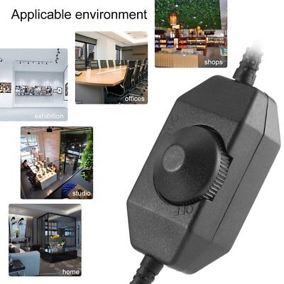 12V Manual Dimmer Brightness To DC Adapters For LED Single Color Light Strip SW