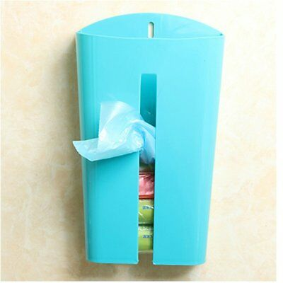 Plastic Wall-Mounted Garbage Bag Storage Box Container Kitchen Organiser SA