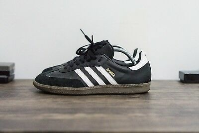 ... Shoes  purchase cheap 0c078 ebc7a NEW Men s Adidas Originals Samba OG  Black White Gum Leather Suede ... a18fd9ac4