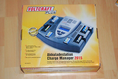 Conrad electronic Voltcraft CHARGE MANAGER 2015 Ladegerät computergesteuert  TOP