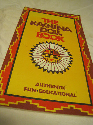 Vtg Kachina Doll Coloring Book By Donna Greenlee 1992 Pbk