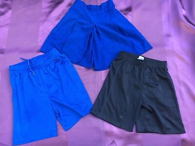 Girls Bulk Lot Of Uniform Bottoms. Size: 10-12. Blue & In Great Condition.