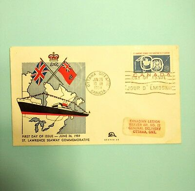 Canadian stamps 1959