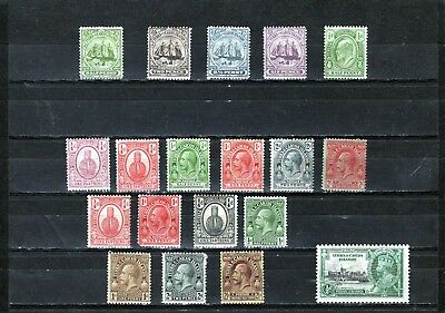 TURKS & CAICOS Is ,fine QV-KGV collection, values to 2/- MINT hinged