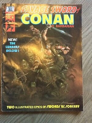 The Savage Sword of Conan the Barbarian #6 - MARVEL COMICS - June 1975