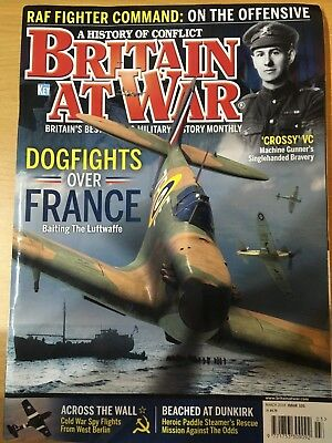 Britain At War magazine March 2018 Dogfights over France Cold War Spy flights