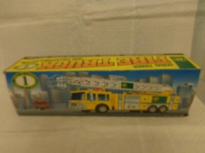 BP Aerial Tower Toy Fire Truck 1996 Collectors Edition 1st in a series MIP