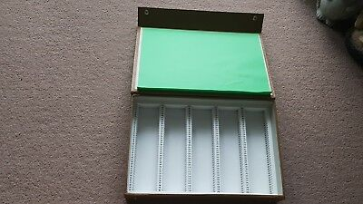 35Mm Colour Slide Storage Box To Store 200 Colour Slides Photography,gold Brown.