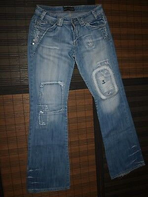 W29 Very Fit Vintage Gabbana Tight Jeans Plaque Dolce amp; Audacious fgZq1Sx