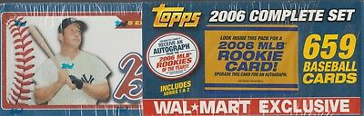 2006 Topps Complete Factory Sealed Baseball Card Set