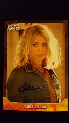 Doctor Who Signature Series - Billie Piper as Rose Autograph Card #4/10
