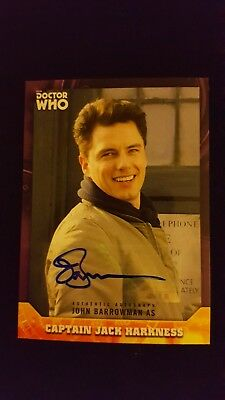 Doctor Who Signature Series - John Barrowman Captain Jack Autograph Card #1/10