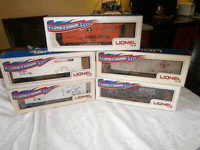 Lionel Mpc Lot Of 5 Cars In Banner Boxes New 1970 - 1971 C-9