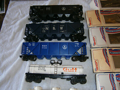 Lionel Mpc Lot Of 6 Cars In Banner Boxes 5 New Unused One Used 1970 - 1971
